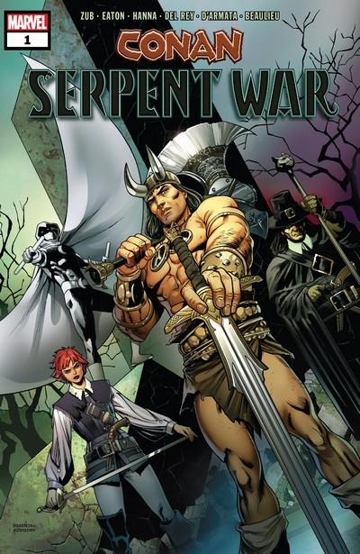 Conan – Serpent War #1 – 4 (2019-2020)
