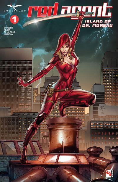Red Agent – Island Of Dr. Moreau #1 (2020)