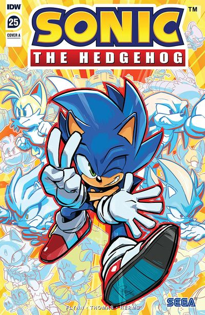 Sonic The Hedgehog #25 (2020)