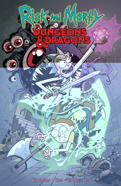 Rick and Morty Vs Dungeons and Dragons (TPB) (2019)