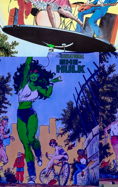 Sensational She-Hulk by John Byrne Omnibus (Fan Made) (2020)