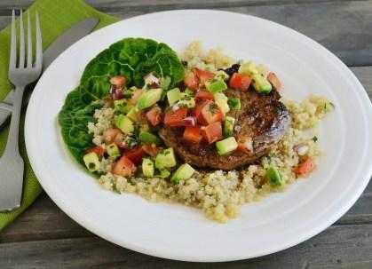 Quinoa Steak Salad 2