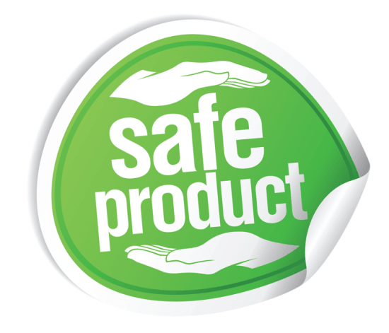 Whether a product is safe or not