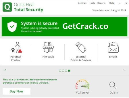 Quick Heal Total Security 2021 Crack With Key Free Download