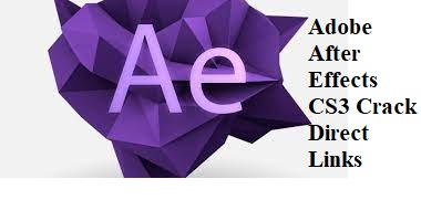 Adobe After Effects CS3 Crack