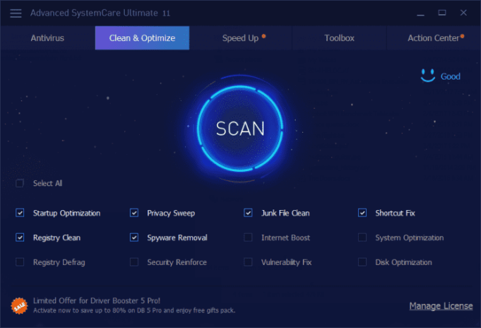 Advanced SystemCare Ultimate Crack With Key