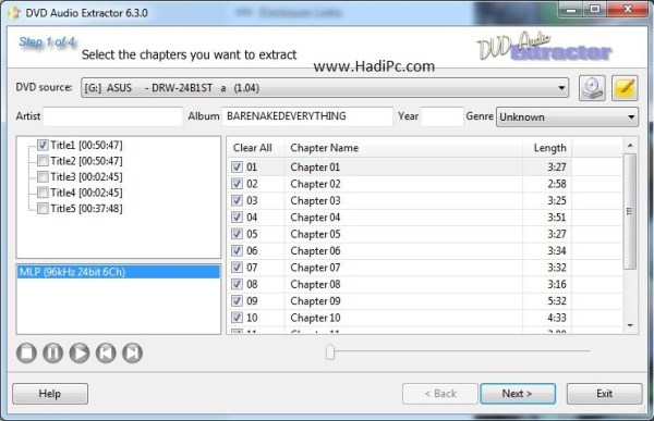 DVD Audio Extractor Crack With License Key Free Download