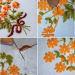 Hand Embroidery Flowers Archives Get Easy Art And Craft Ideas