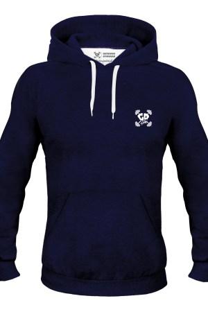 Get Down Logo Hoodie Navy