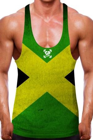 Jamaican Flag Stringer Vest