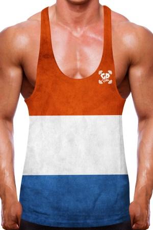 Netherlands Flag Stringer Vest