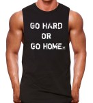 muscle tank rugged black
