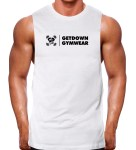 muscle tank rugged white