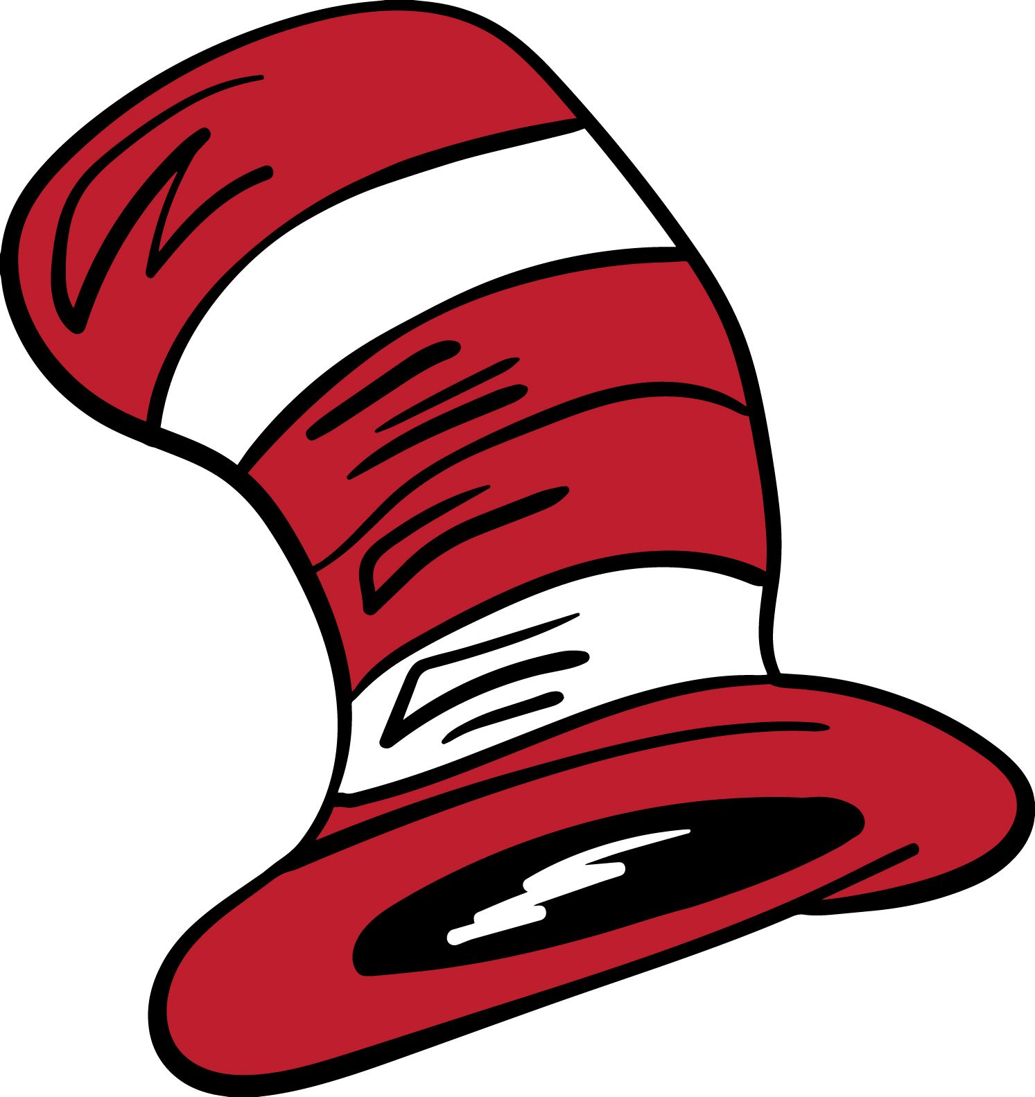 Dr Seuss Hat Clipart At Getdrawings