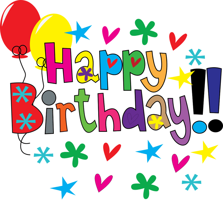 graphic regarding Birthday Clipart Free Printable named Pleased Birthday Borders And Frames Printable