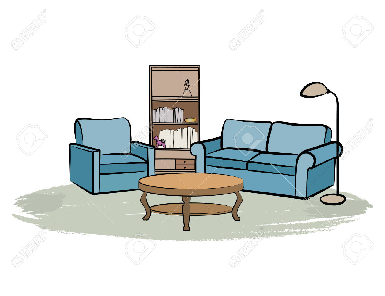 The Best Free Living Room Clipart Images Download From