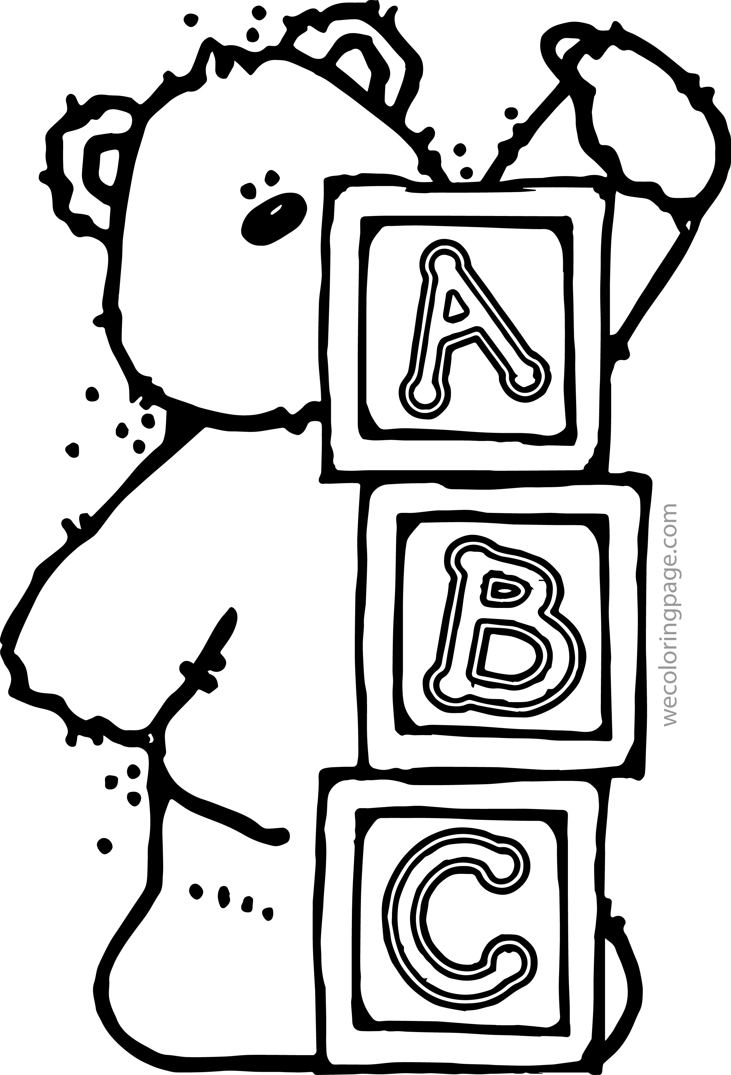 Alphabet Coloring Pages Book At Getdrawings