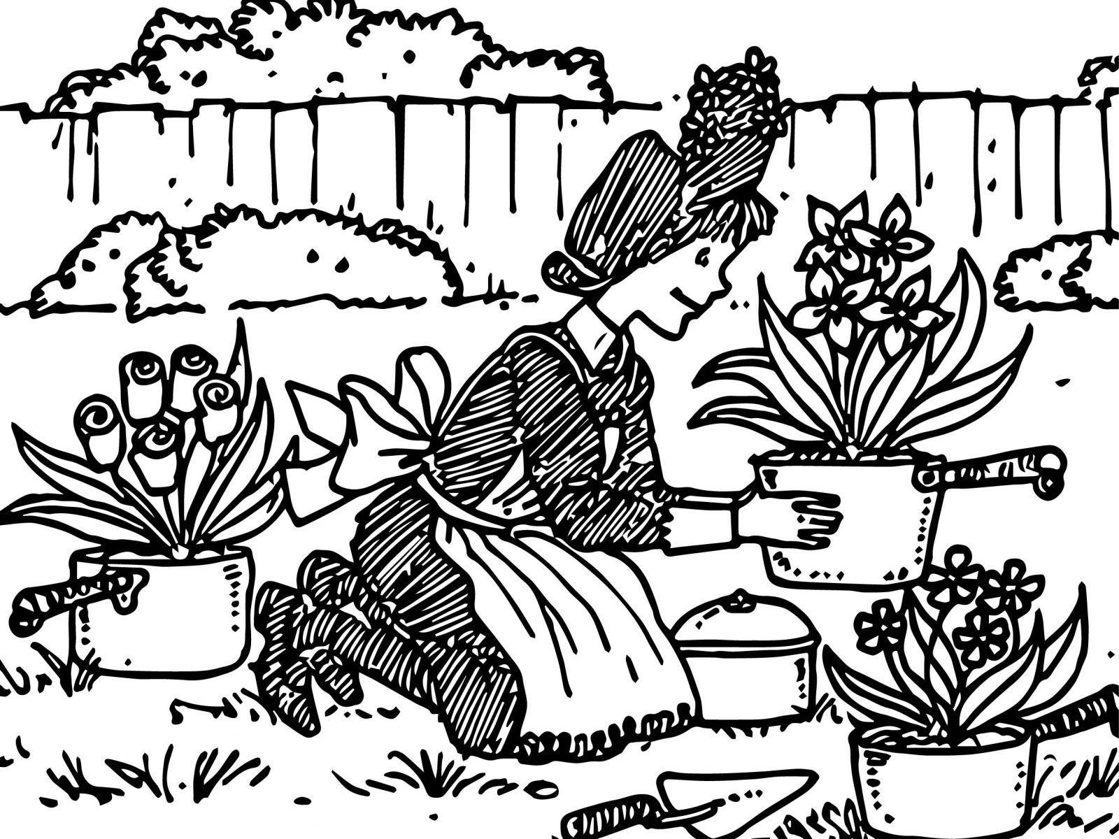 Amelia Bedelia Coloring Page At Getdrawings
