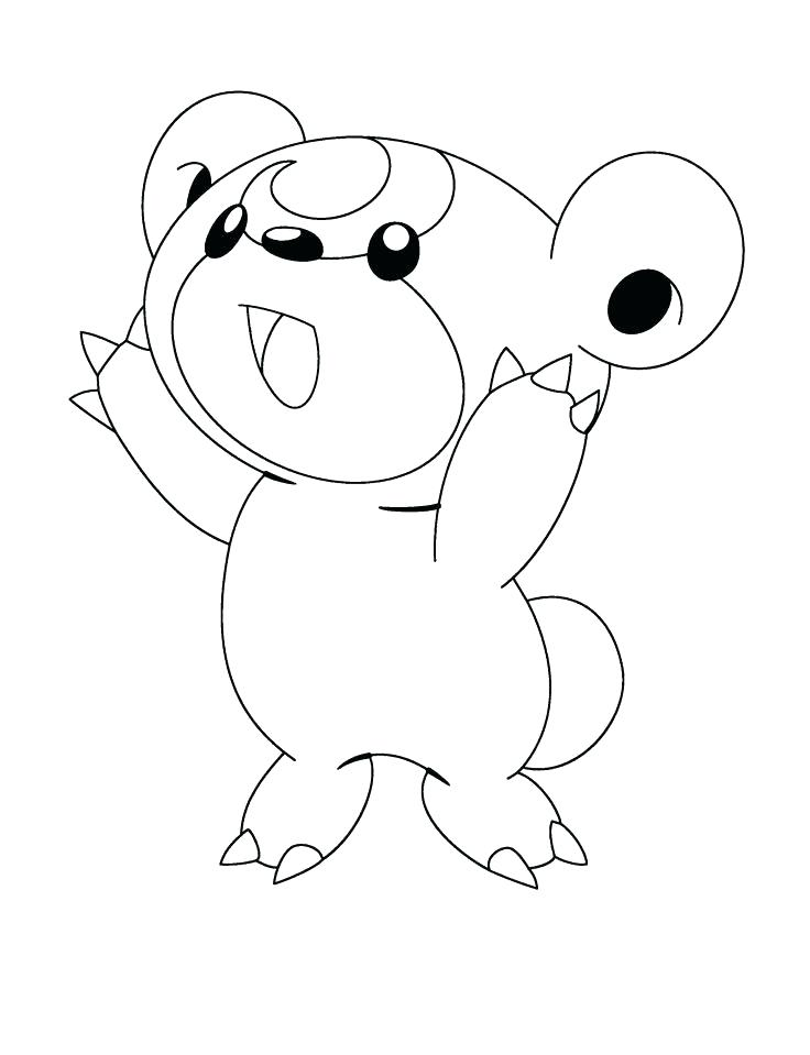 baby pokemon coloring pages at getdrawings  free download