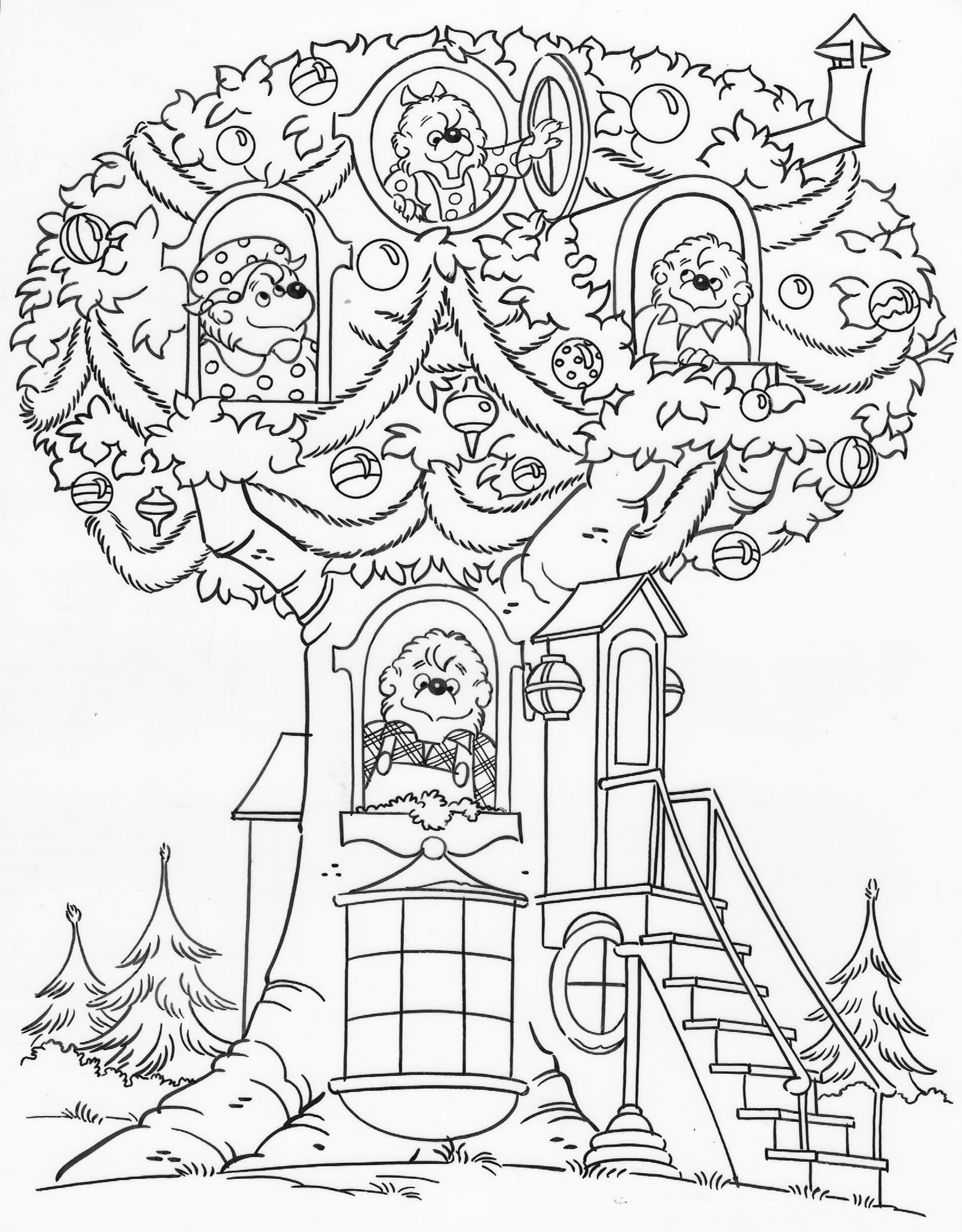 Berenstain Bears Coloring Pages At Getdrawings
