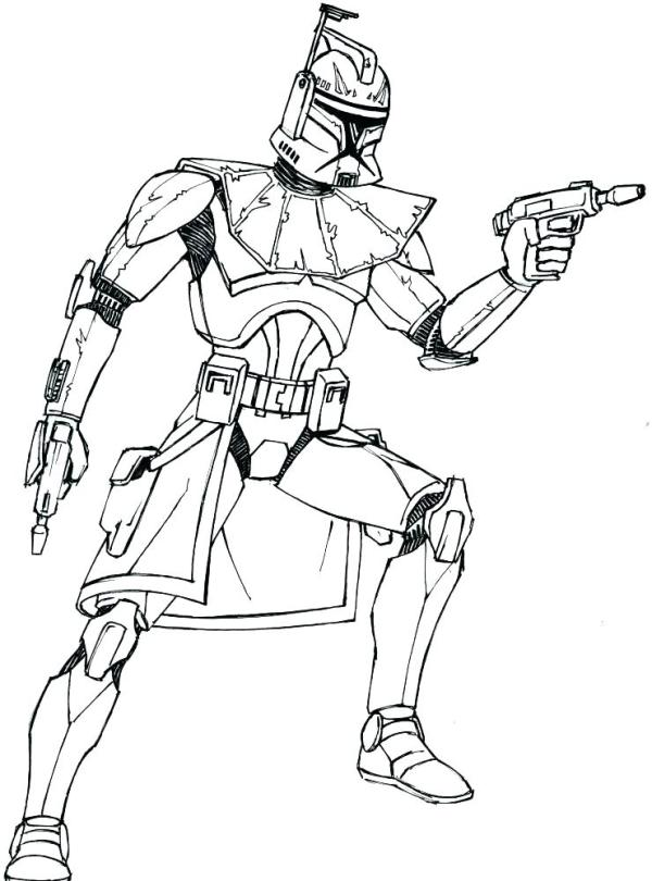 boba fett coloring page # 31