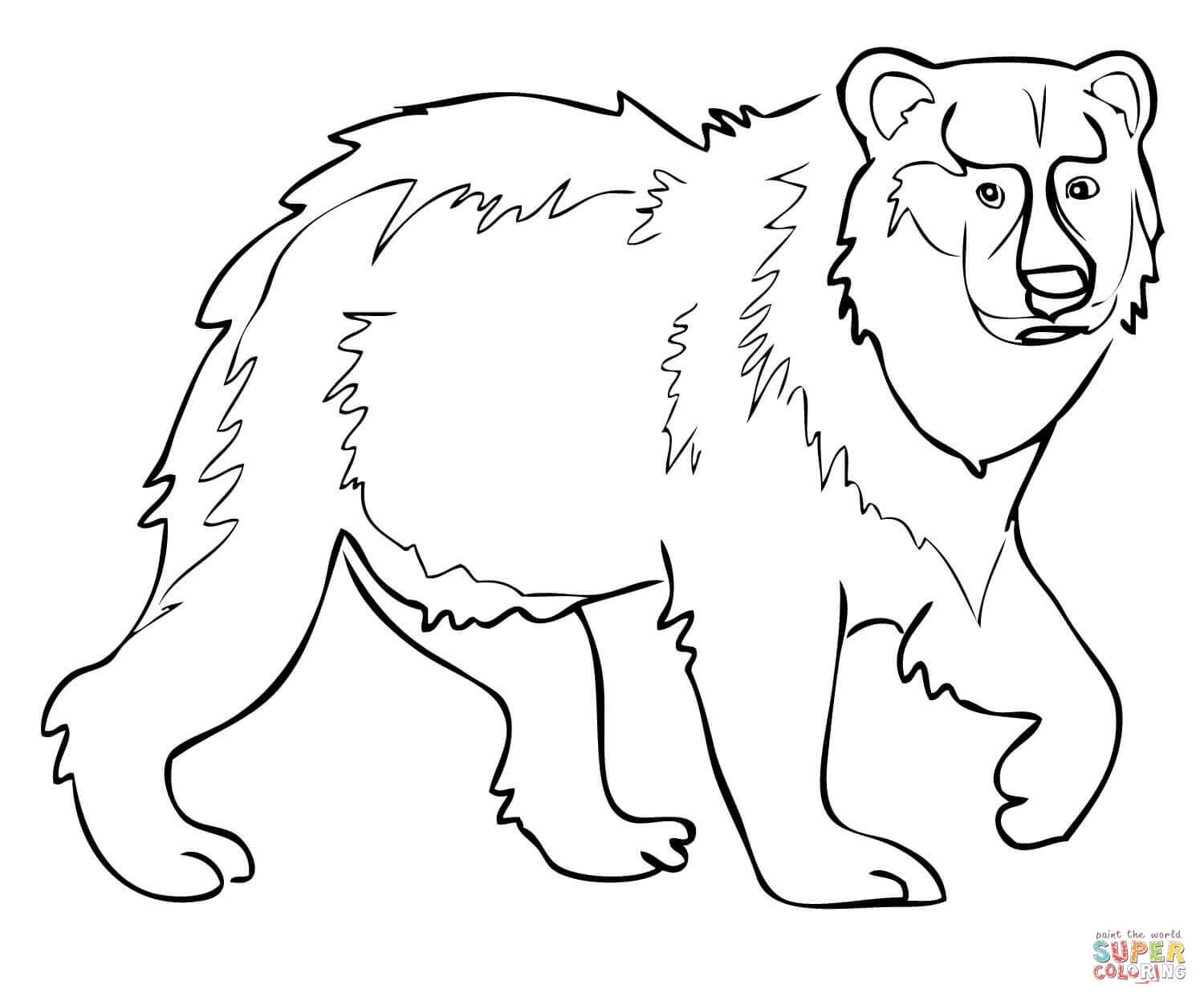 Brown Bear Brown Bear What Do You See Coloring Pages At
