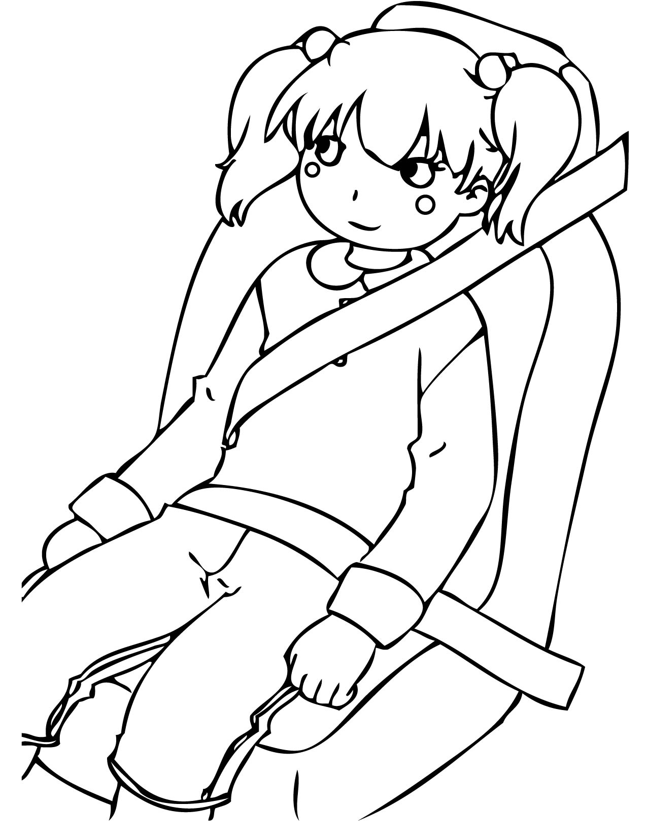 Car Seat Coloring Pages At Getdrawings