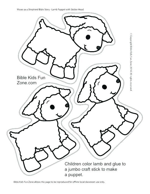 cartoon sheep coloring pages at getdrawings  free download