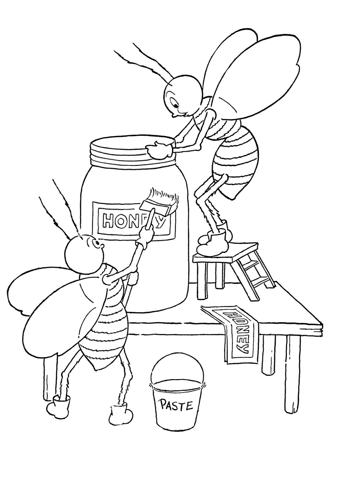 The Best Free Bumble Coloring Page Images Download From
