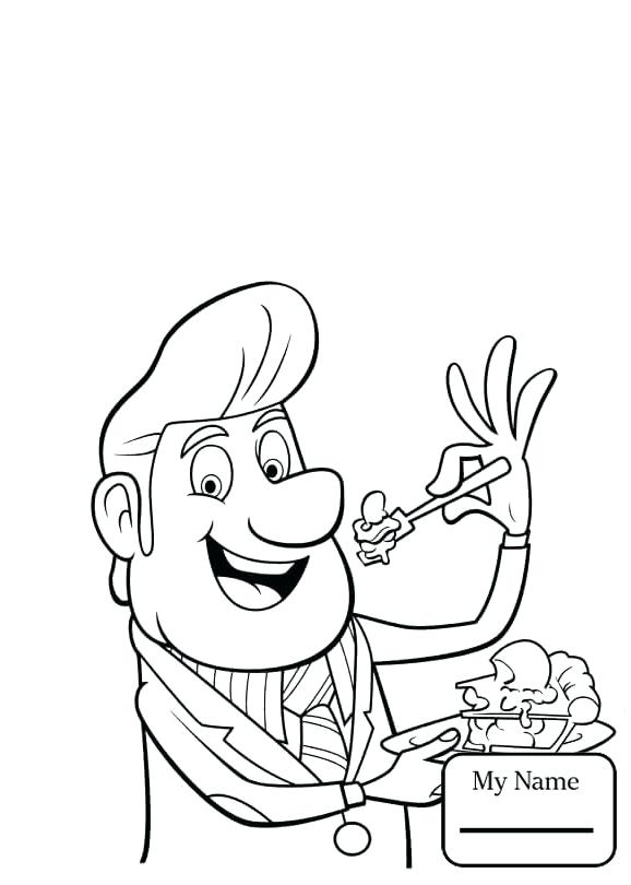 cloudy with a chance of meatballs coloring pages # 58