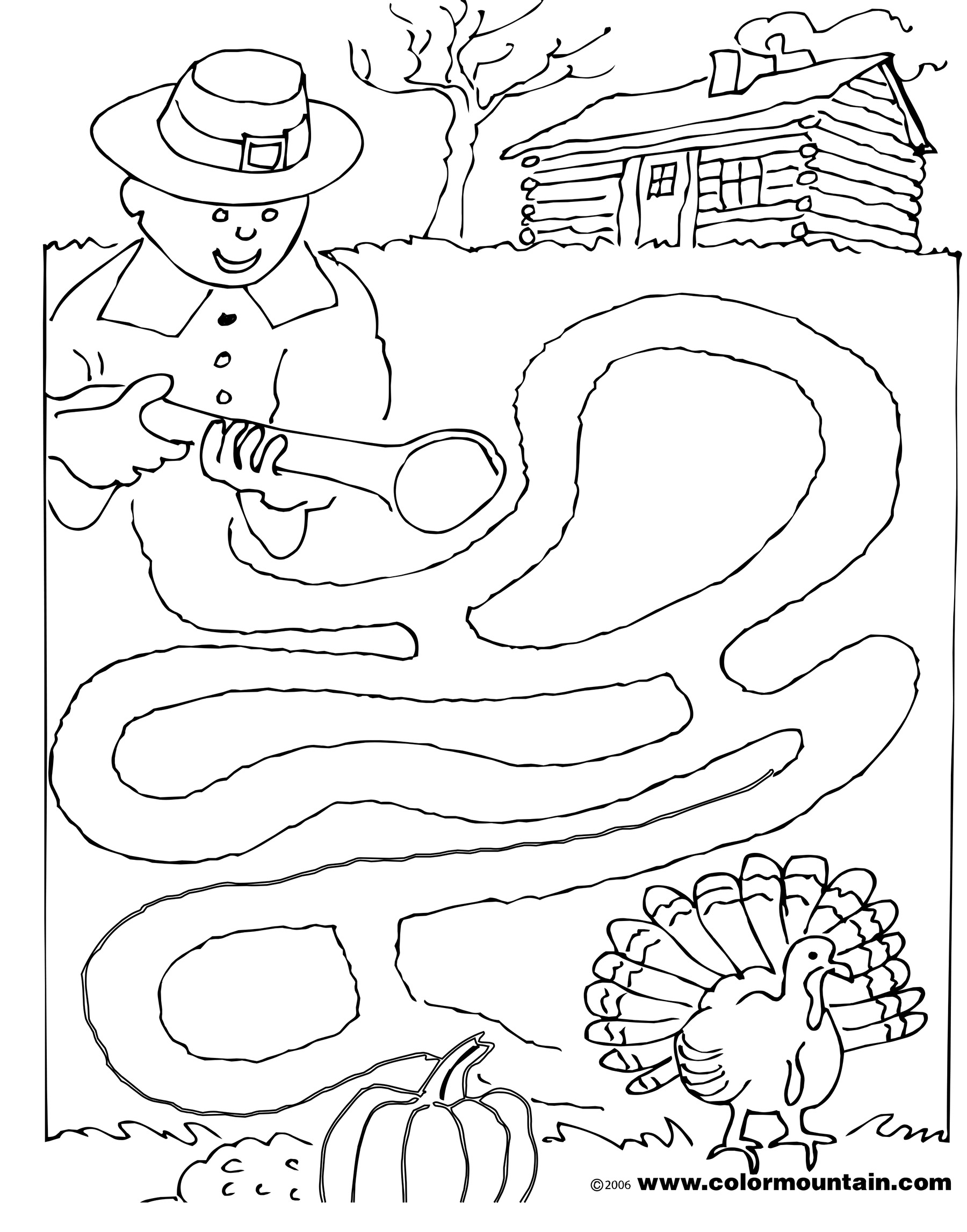 Coloring Pages And Mazes At Getdrawings