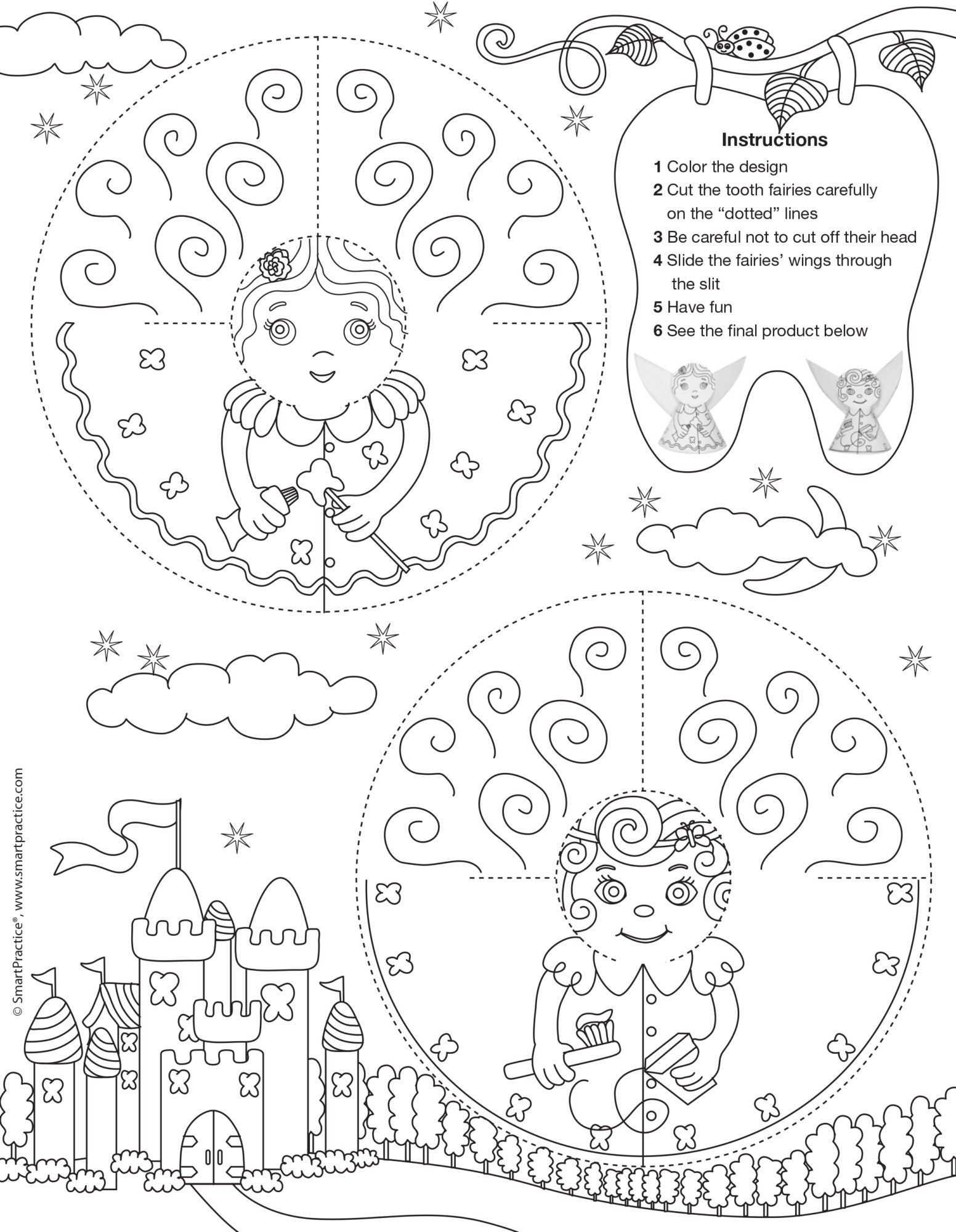 Coloring Pages With Instructions At Getdrawings