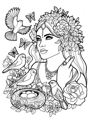 person coloring page # 39