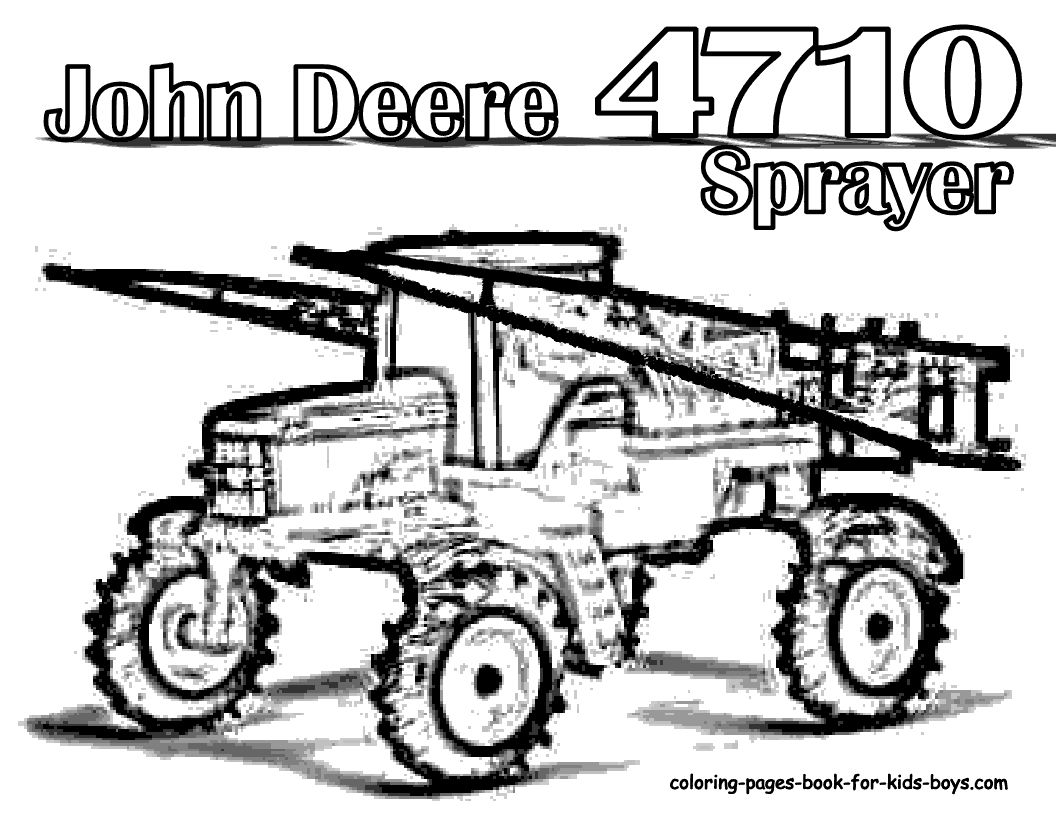 Combine Harvester Coloring Pages At Getdrawings