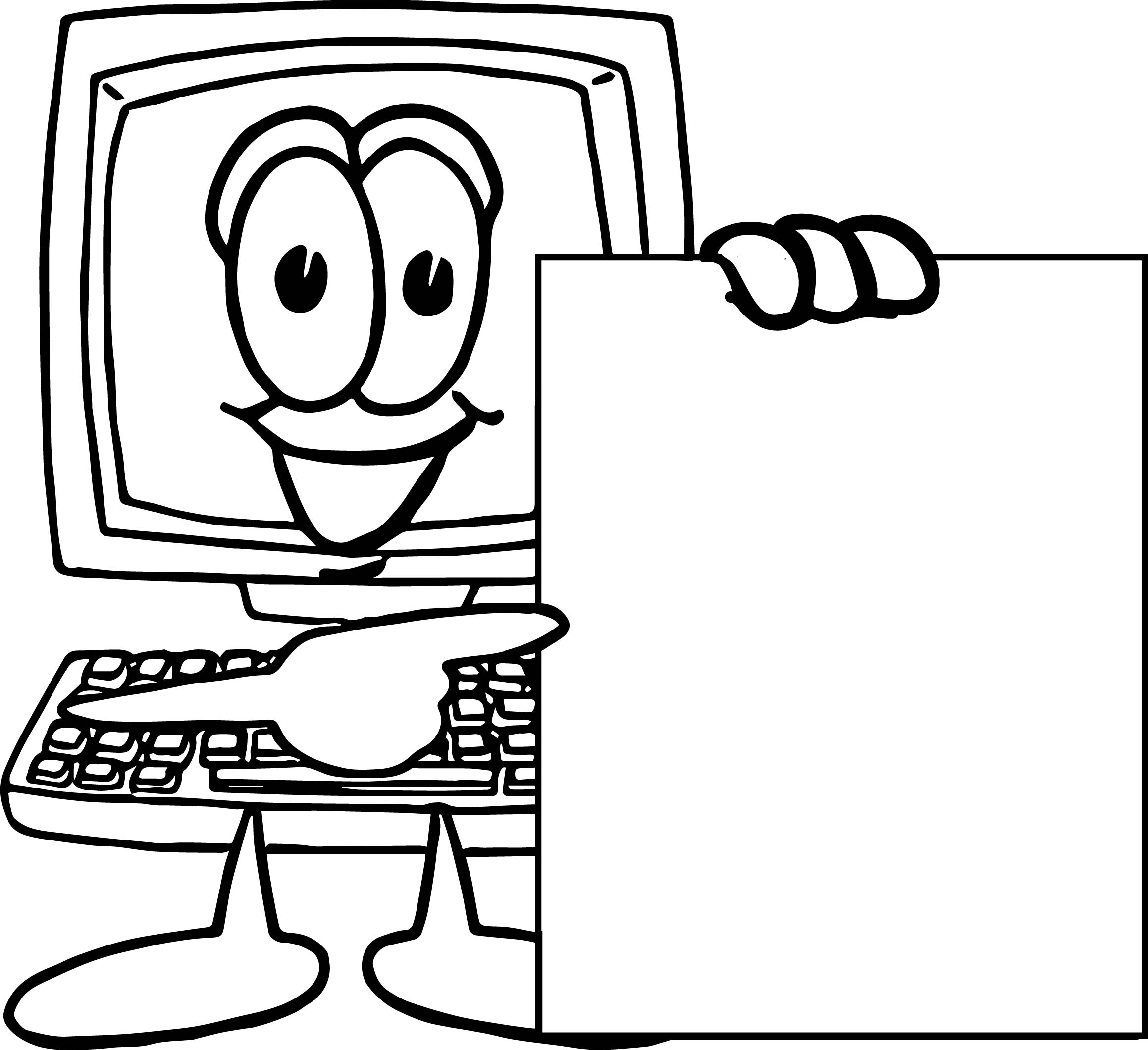 Computer Parts Coloring Pages At Getdrawings
