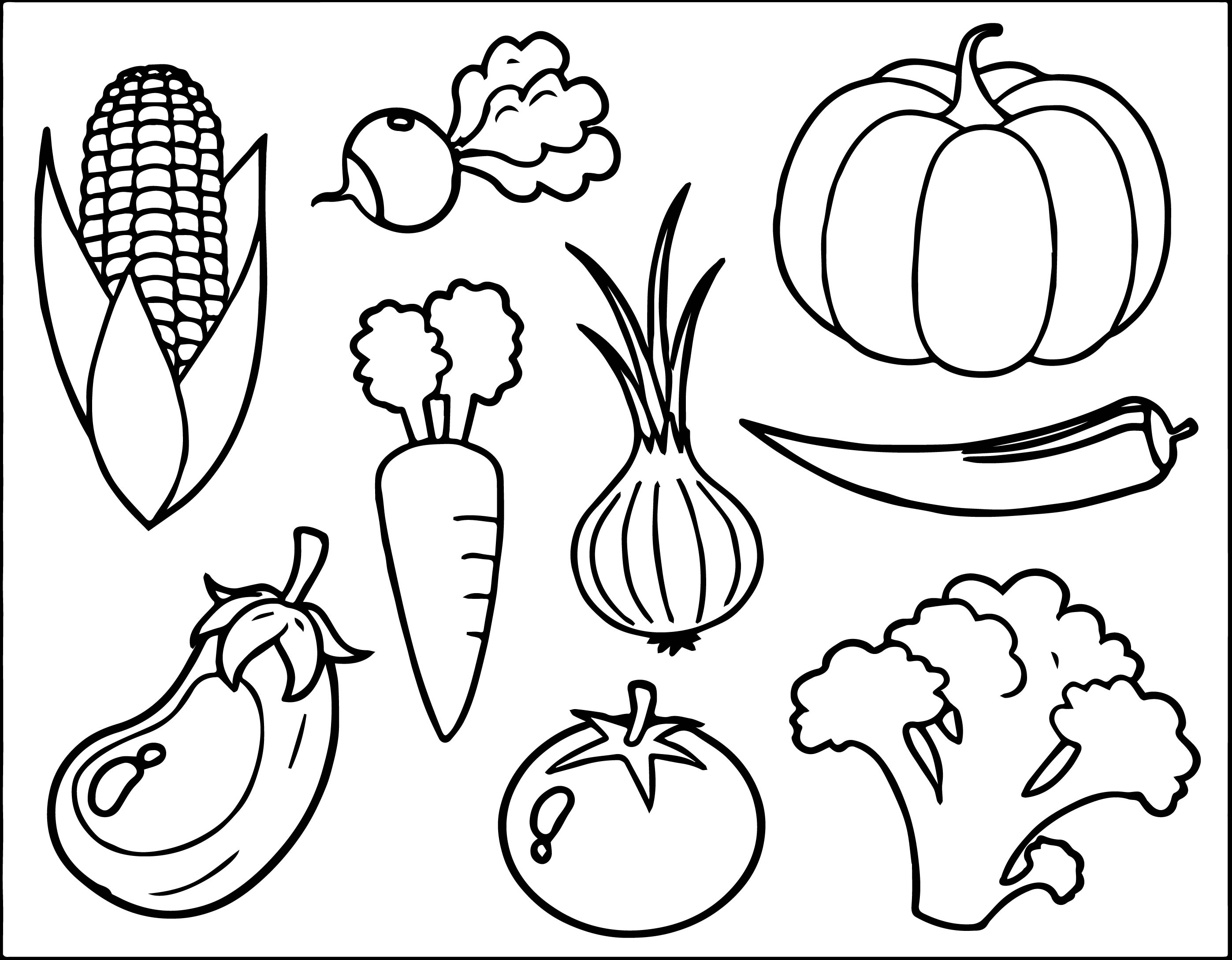 Cornucopia Fruit Coloring Pages At Getdrawings