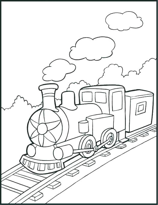 train color pages free printable # 49