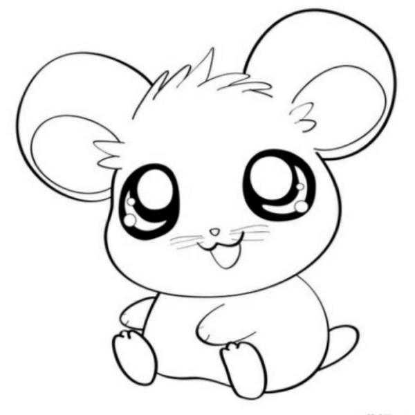 coloring pages cute animals # 20