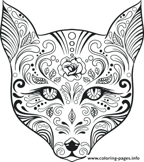skulls coloring pages # 32