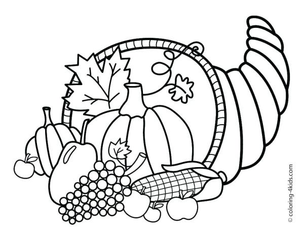 disney thanksgiving coloring pages # 25