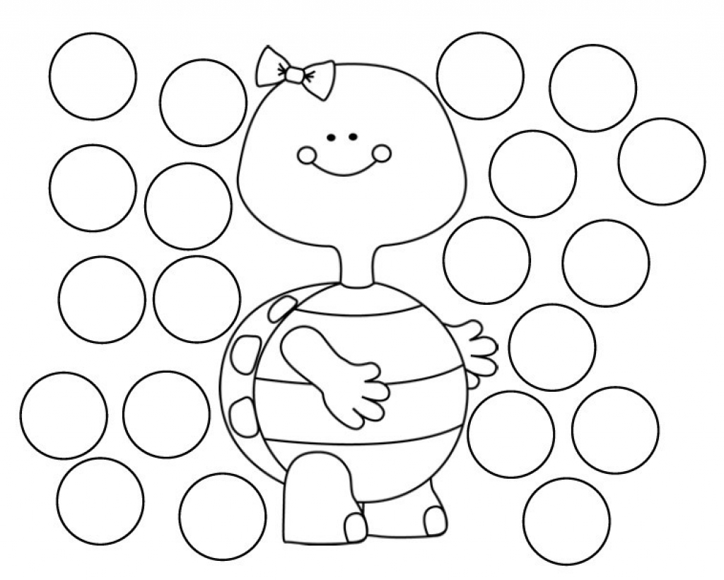 Dot Art Coloring Pages At Getdrawings