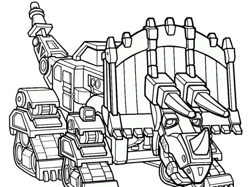 the best free dinotrux coloring page images. download from