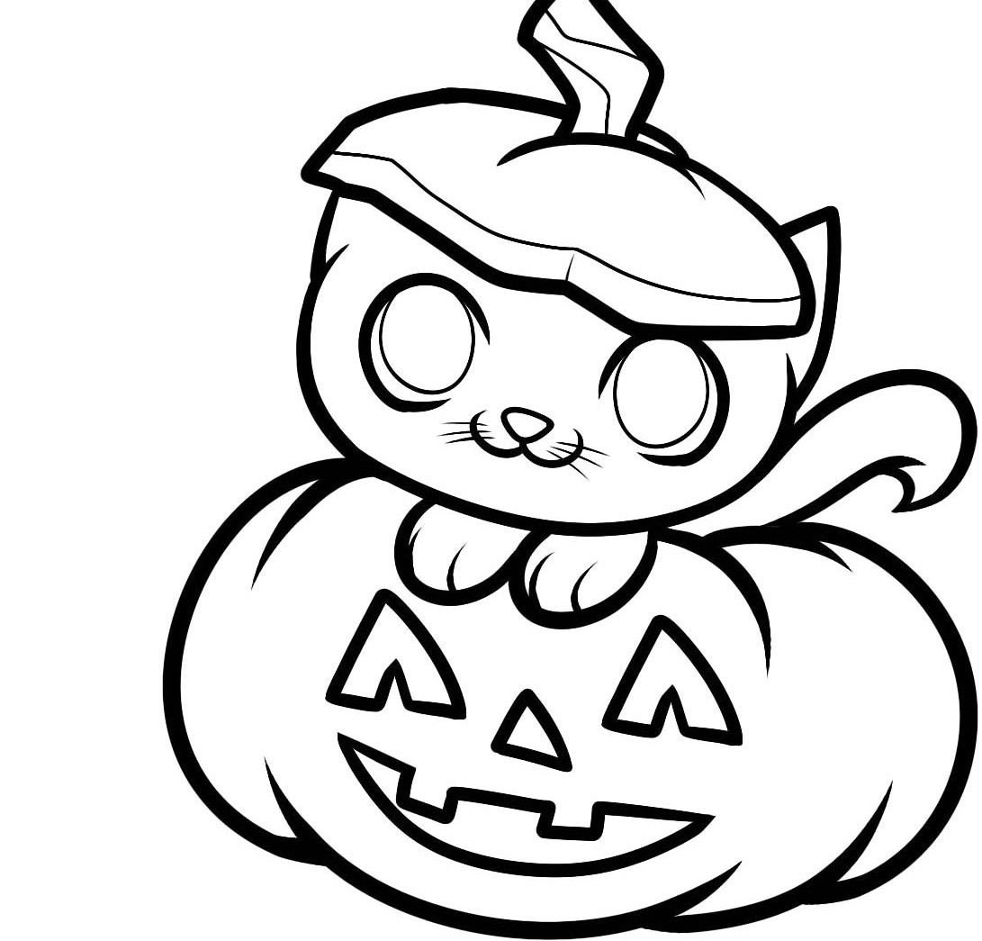 Fall Pumpkin Coloring Pages For Kids At Getdrawings