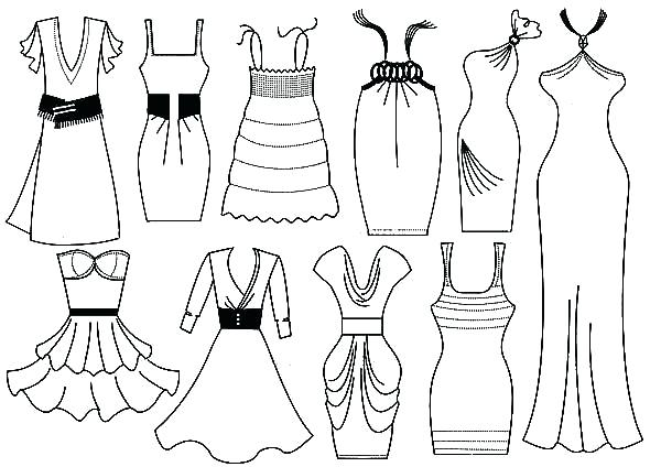 coloring pages fashion # 74