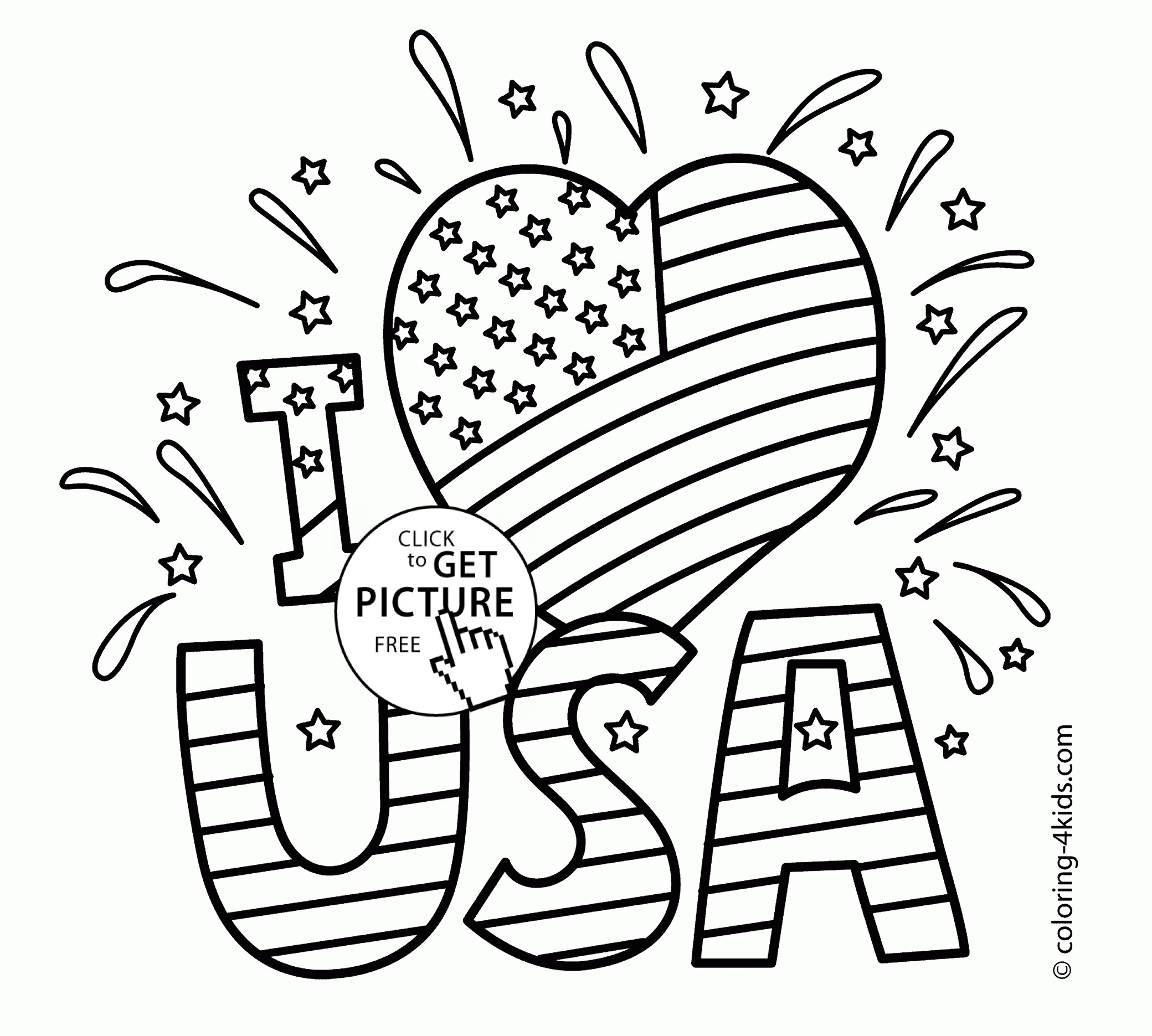 Free Memorial Day Coloring Pages At Getdrawings