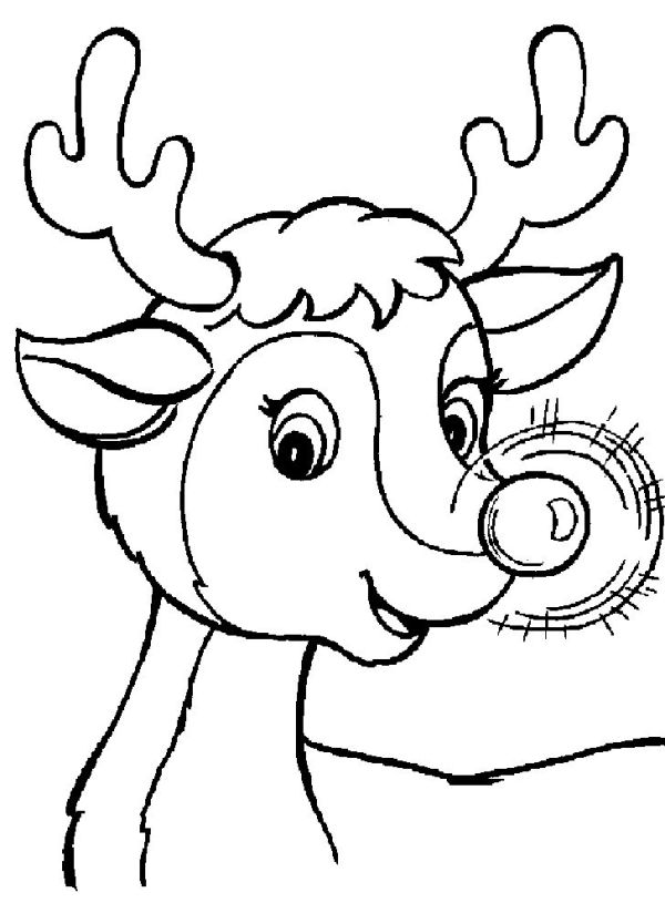 preschool christmas coloring pages # 77