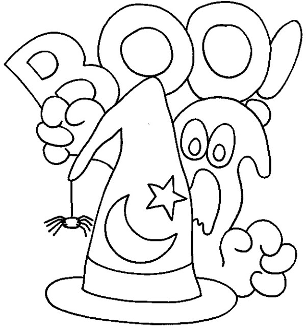 free coloring pages halloween # 61