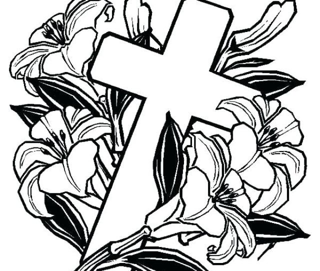 Free Printable Cross Coloring Pages At Getdrawings Free Download