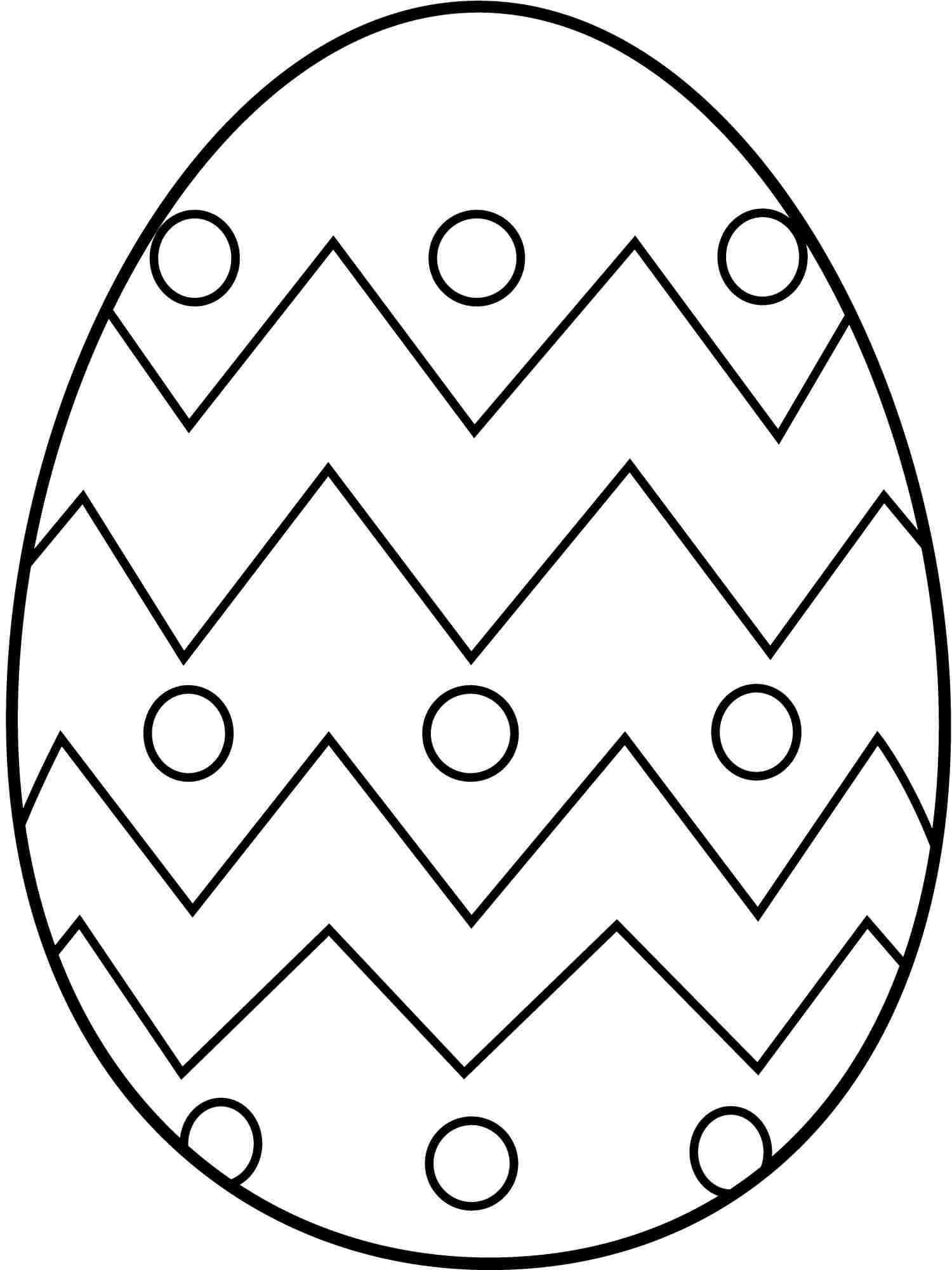 Free Printable Easter Coloring Pages For Preschoolers At