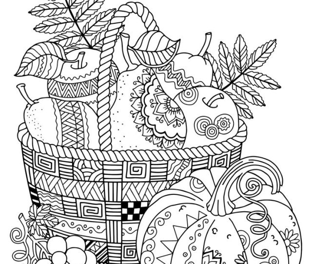Free Printable Fall Coloring Pages For Adults At Getdrawings